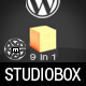 Studio Box Premium Wordpress 9 in 1 Nulled