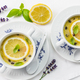 Avgolemono - delicious Greek chicken egg and lemon soup - PhotoDune Item for Sale