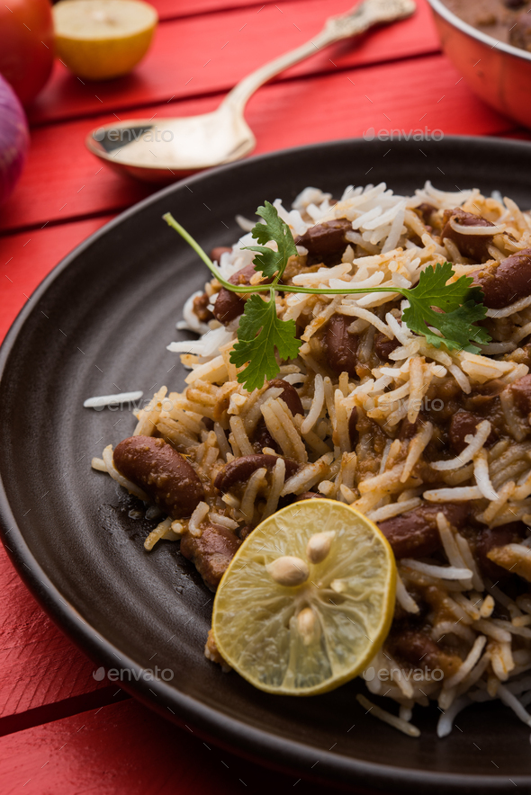 Rajma / Razma / Kidney Bean Curry - Stock Photo - Images