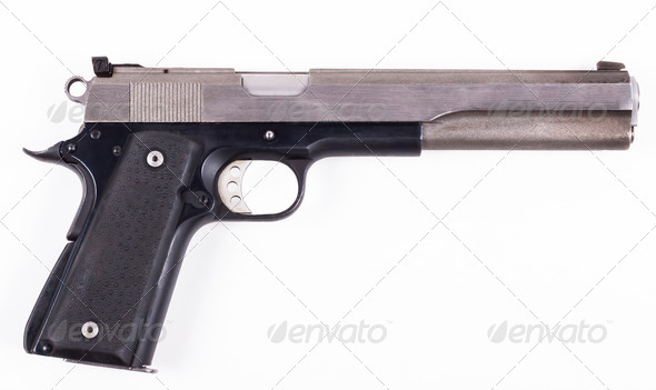 Long Pistol - Stock Photo - Images