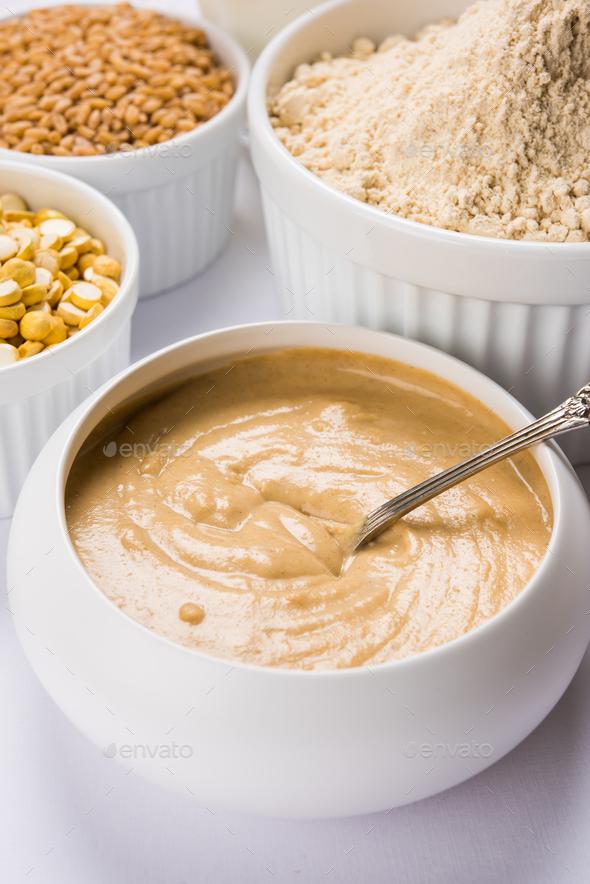 Healthy Food Sattu - Stock Photo - Images