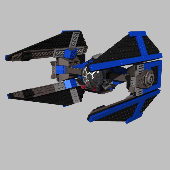 LEGO Tie Interceptor - 3DOcean Item for Sale