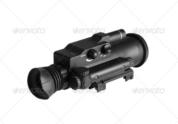 Night Vision Monocular - Stock Photo - Images