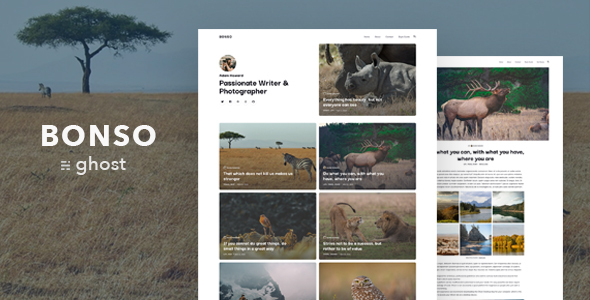 Bonso – Personal Ghost Blog Theme
