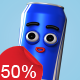 Drink Can - Character Kit - VideoHive Item for Sale