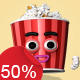 Popcorn - Character Kit - VideoHive Item for Sale