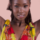 Potrait of a young Black African woman,model of fashion - PhotoDune Item for Sale