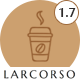 Larcorso - Coffee Shop WooCommerce Theme - ThemeForest Item for Sale