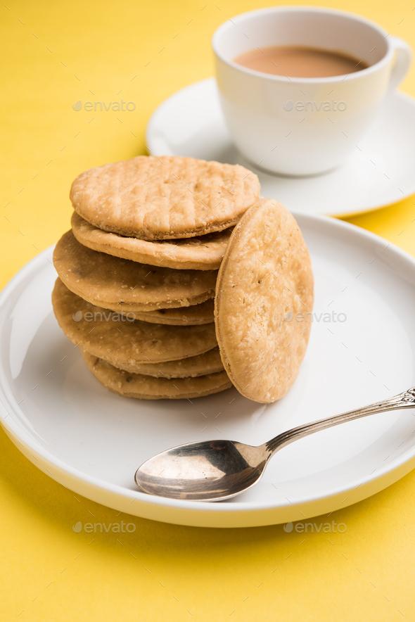 Mathri Snack - Stock Photo - Images