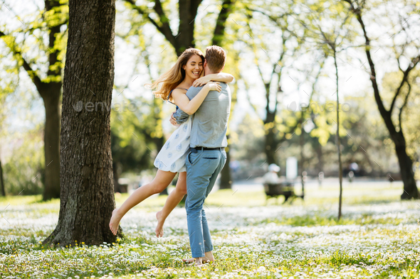 True love in nature - Stock Photo - Images