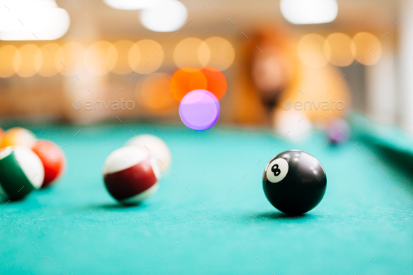 Snooker eight - Stock Photo - Images