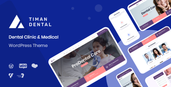 Timan - Dental Clinic & Health WordPress
