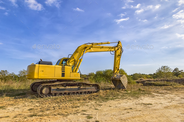 excavator - Stock Photo - Images