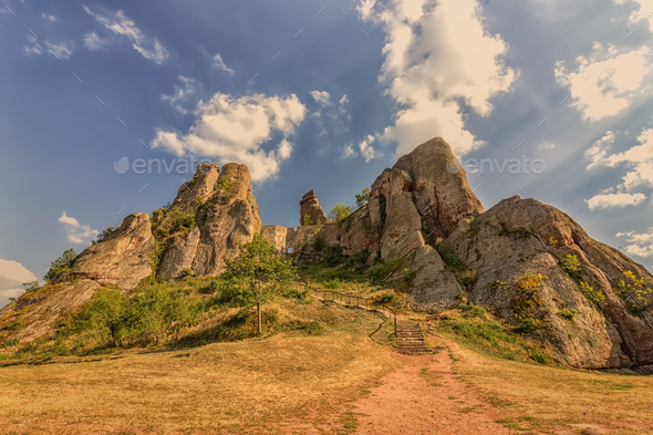 rocks formation - Stock Photo - Images
