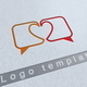 Lovers Talk Logo Template - GraphicRiver Item for Sale