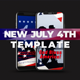 Patriot Day 4th of July Independence Day Template - VideoHive Item for Sale