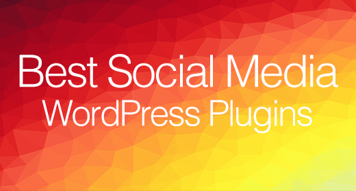 Best Social Media WordPress Plugins 2020