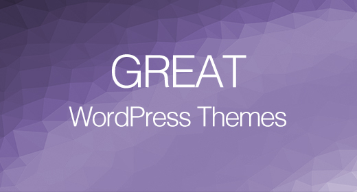 Great WordPress Themes 2020