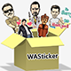 Bollywood stickers for WhatsApp 2020 | Free WAStickers - Android App + Admob + Facebook