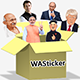 Politician stickers for WhatsApp 2020 | Free WAStickers - Android App + Admob + Facebook