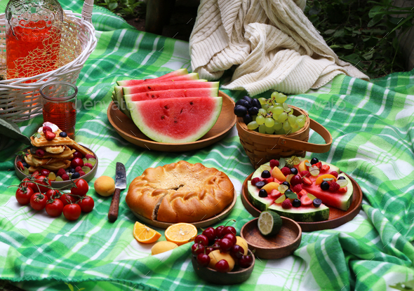 Summer Picnic - Stock Photo - Images