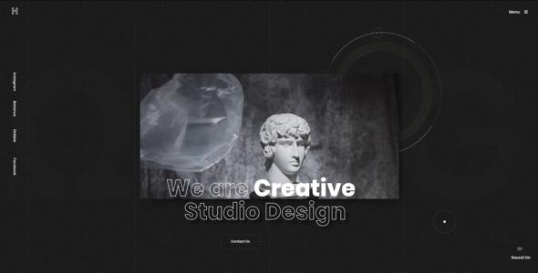 Helion - Creative Portfolio HTML5 Template