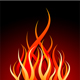 Vector fire - GraphicRiver Item for Sale