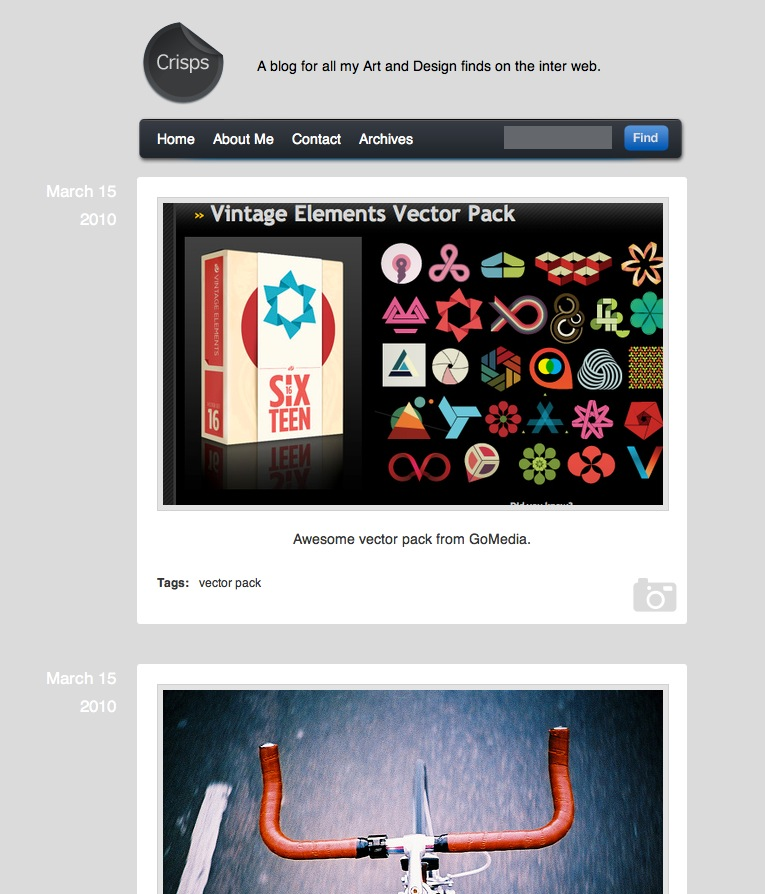 Free Download Crisps Tumblr Theme Nulled Latest Version