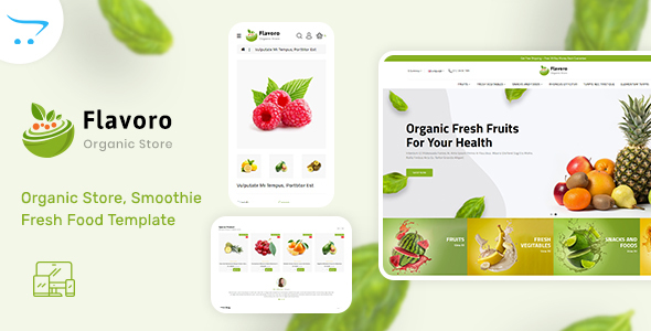 Flavoro – Organic Food OpenCart Store