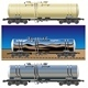 Vector Oil Gasoline Tanker Car Set - GraphicRiver Item for Sale