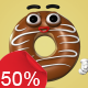 Donuts - Character Kit - VideoHive Item for Sale