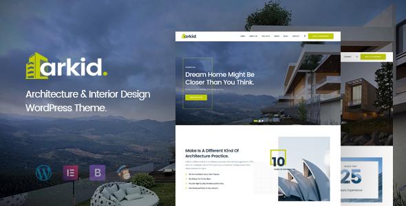 Arkid – Architecture and Interior Design WordPress Theme