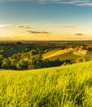 Sunset over South Styria vineyard landscape in Steiermark, Austria - PhotoDune Item for Sale