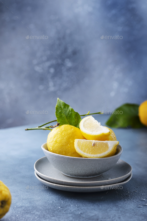 Fresh Sicilians lemons - Stock Photo - Images