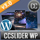 CCSlider WP - 3d/2d Slideshow WordPress Plugin