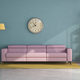 Living room with pink sofa and vintage furniture elements - PhotoDune Item for Sale