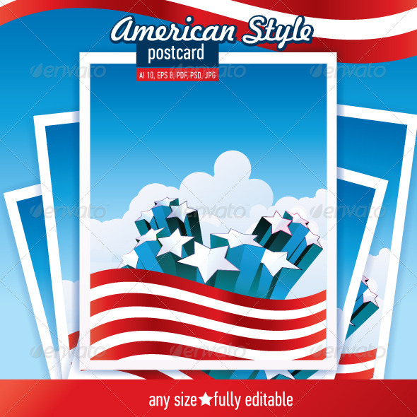 Fourth of July  - Backgrounds Decorative