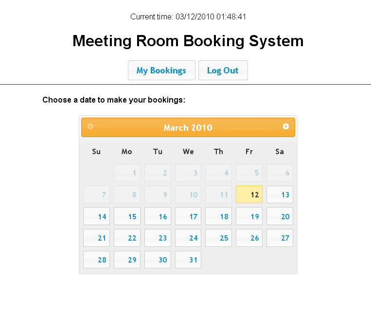 Meeting Room Booking System 2 By Dilab Codecanyon