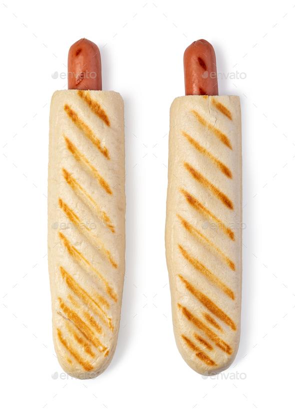 French hot-dog - Stock Photo - Images