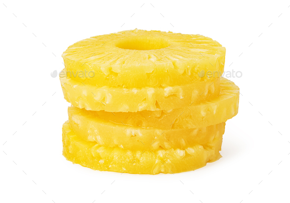 Pineapple ring. - Stock Photo - Images
