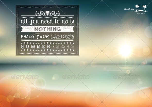 All you need to do is nothing, creative graphic m - Decorative Vectors