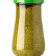basil pesto sauce in glass jar - PhotoDune Item for Sale