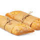 fresh baked bread on white background - PhotoDune Item for Sale
