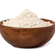 bowl of flour on white background - PhotoDune Item for Sale