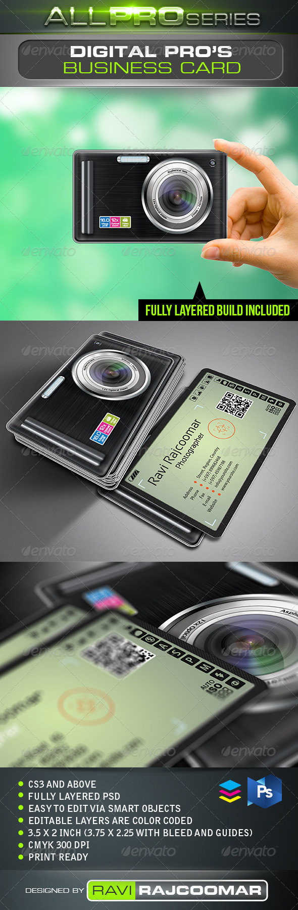 Digital Pro Business Card - Industry Specific Business Cards