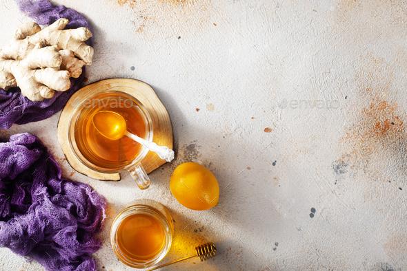 fresh tea - Stock Photo - Images