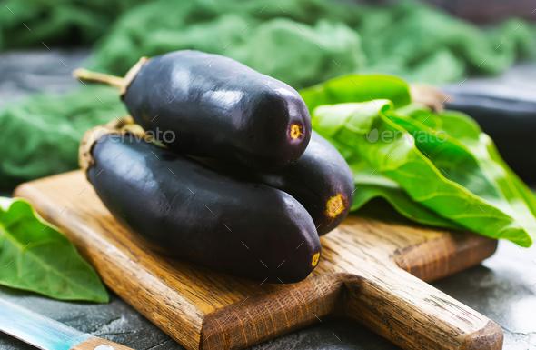 eggplant - Stock Photo - Images