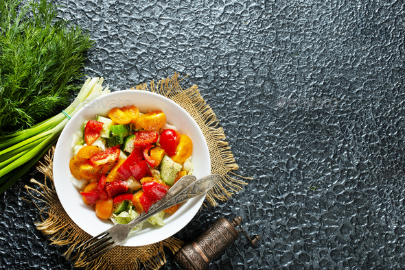 vegetable salad - Stock Photo - Images