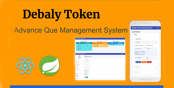 Debaly Token Advance Que Management System }}