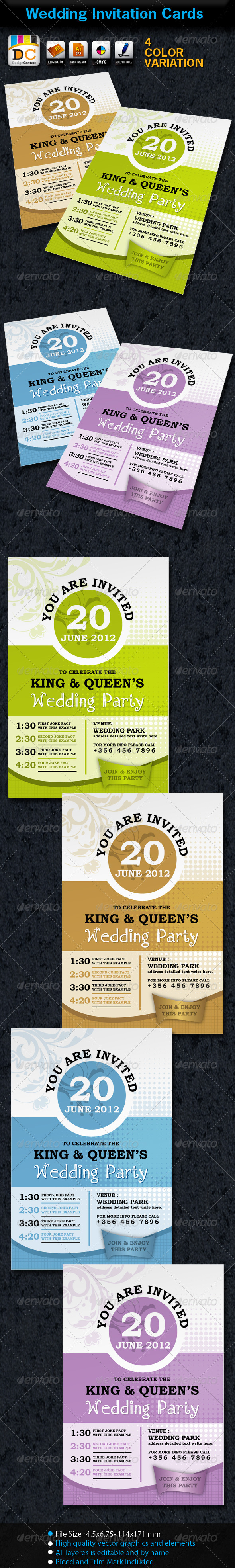 Wedding/Marriage Invitation Card Sets - Invitations Cards & Invites